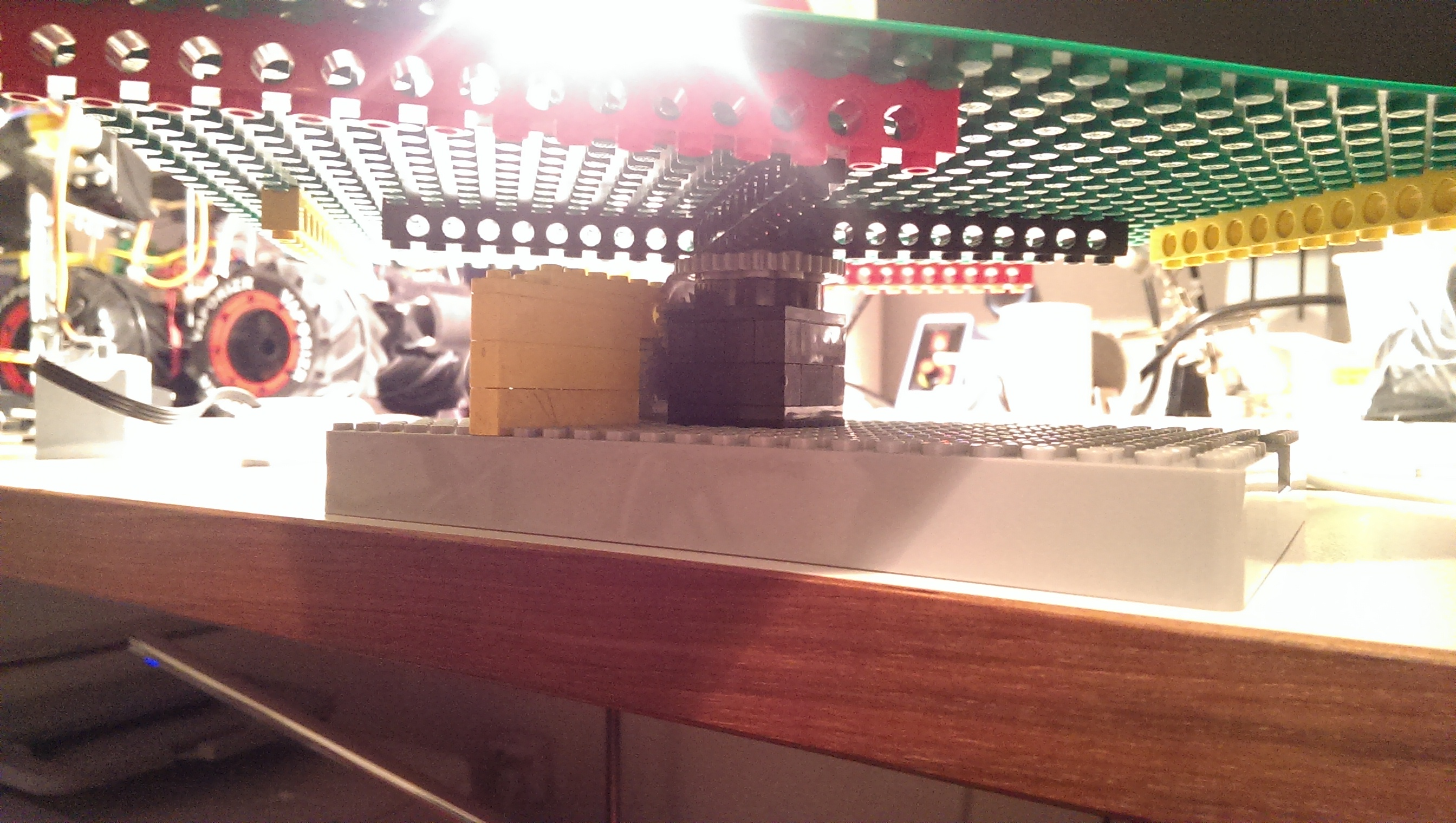 lego stand composed