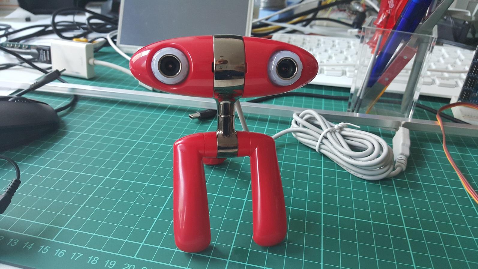 minoru stereo webcam