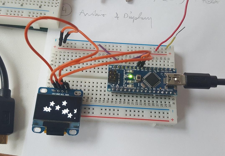 OLED I2C Nano