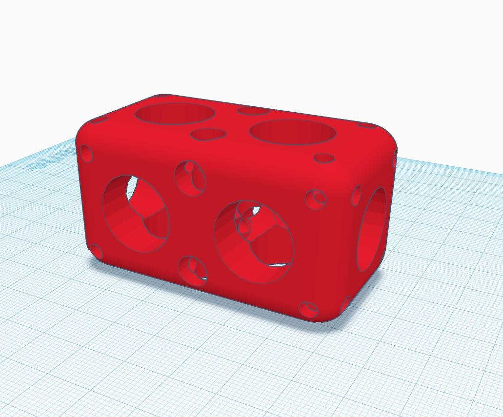 tinkercad rounded box v31
