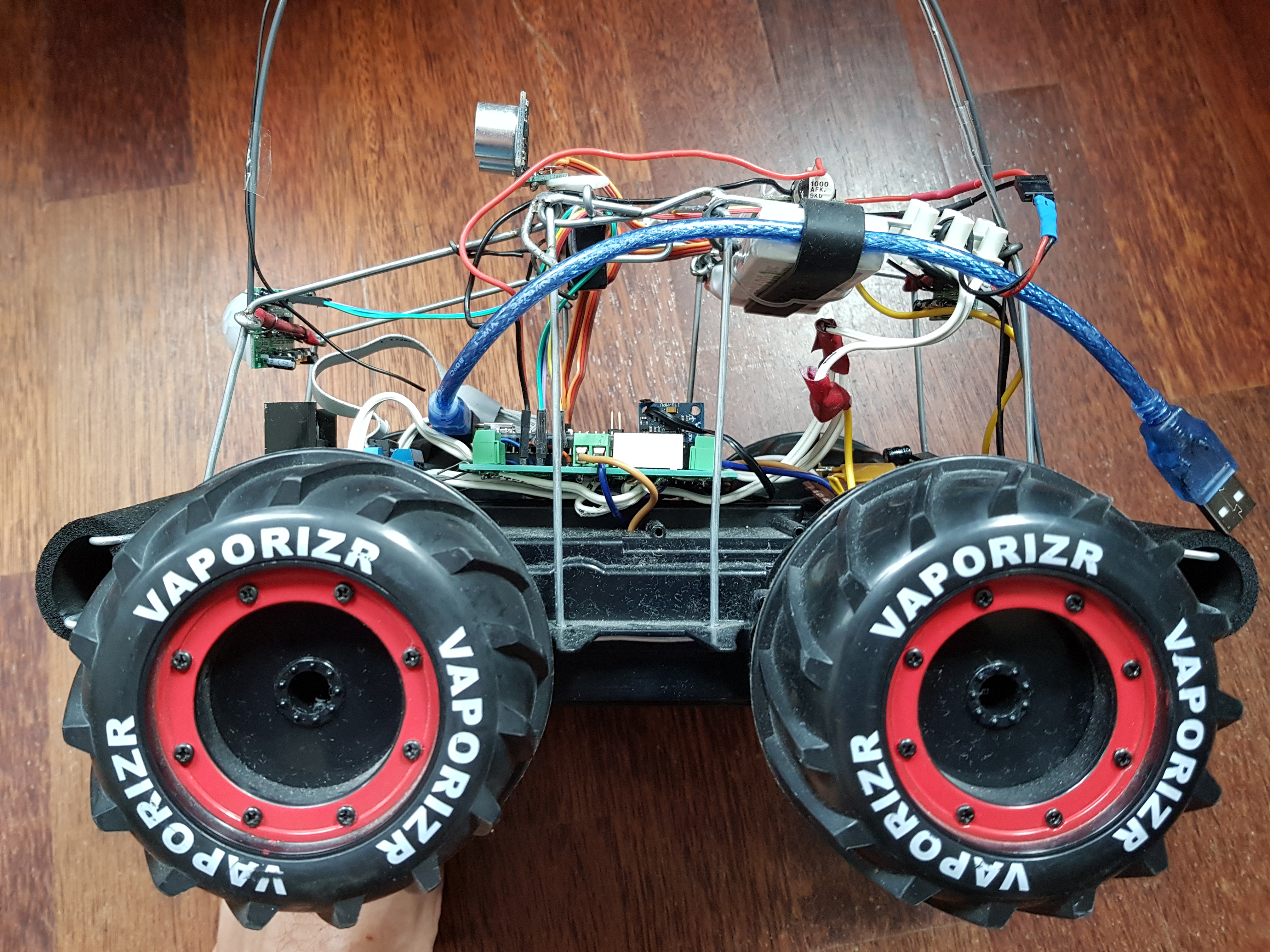 Arduino / RC mixed autonomy Rover